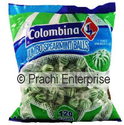 COLOMBINA SPEARMINT BALL (120 CT)
