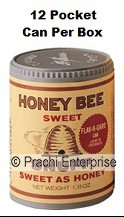 HONEY BEE SNUFF POCKET (12 CANS)