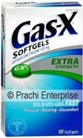 MED. GAS-X SOFTGELS (10 CT)