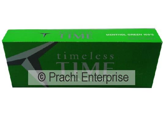 TIME CIGARETTE BOX MENTHOL LIGHT 100 (10 CT)