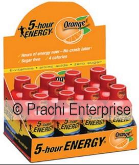 5 - HOUR ENERGY ORANGE (12-2 OZ)