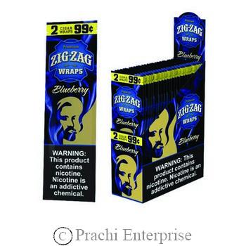 ZIG-ZAG WRAPS 2/$0.99 BLUEBERRY (25 PK)