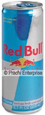 RED BULL 8 OZ SUGAR FREE REGULAR (24 CANS)